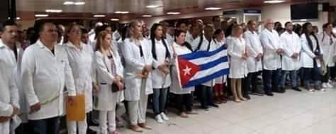 Medicos Cubanos en 20 paises del mundo para ayudar combatir el coronavirus