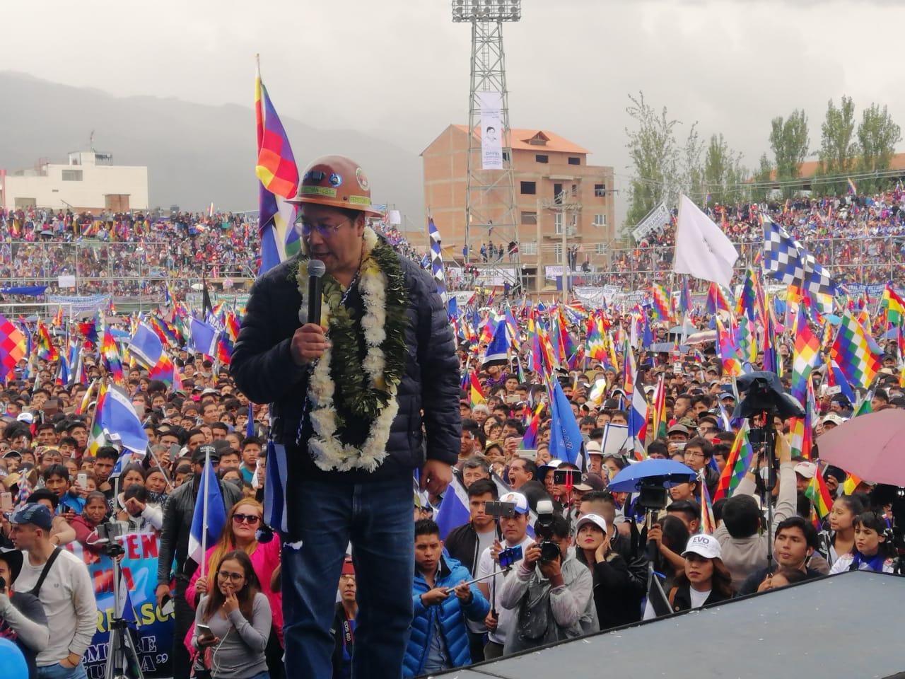 MAS -IPSP: primero esta la vida y después una nueva fecha de elecciones