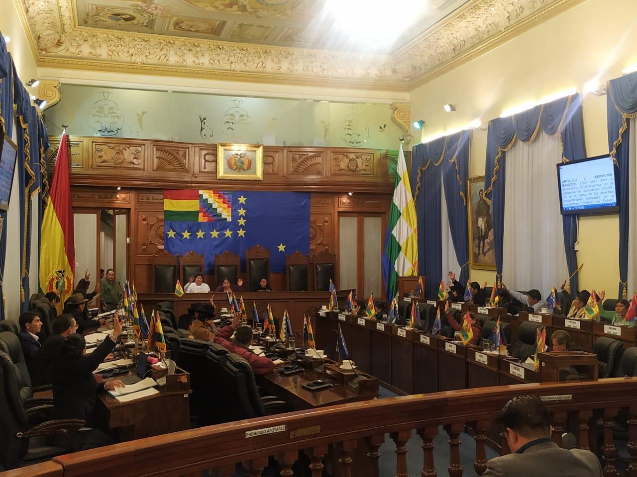 Senado prevé sancionar Ley Frente al Coronavirus