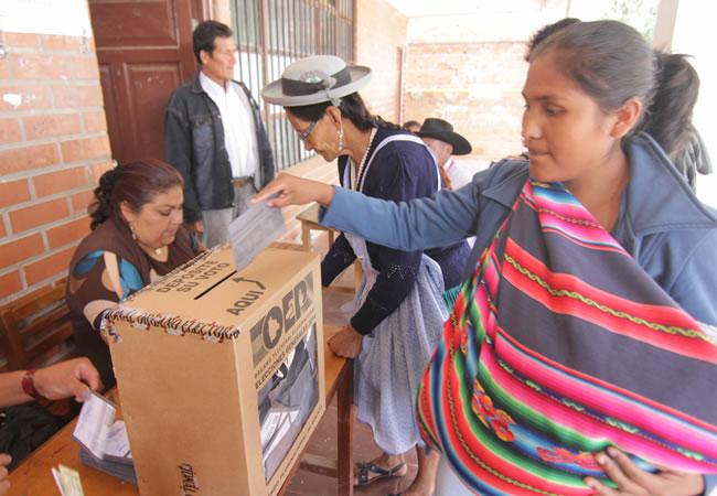ELECCIONES EN BOLIVIA: LA DERECHA, EL HILO DE ARIADNA DE LOS REVOLUCIONARIOS