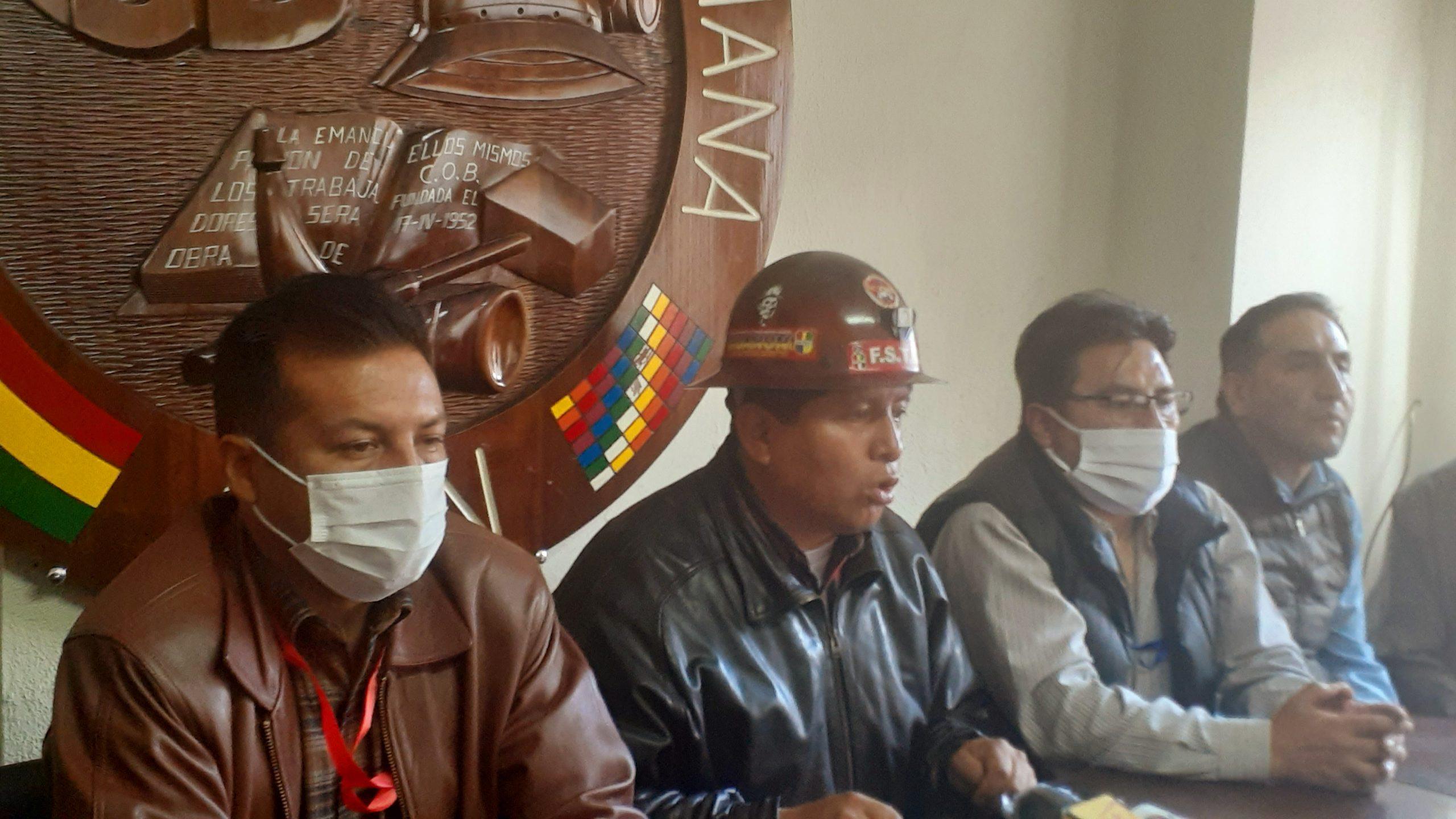 La COB confía en el Gobierno  y esperan pronta reestructuración del estado a un mes del mandato de Arce Catacora