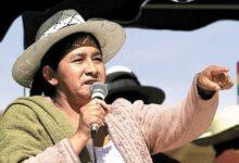Photo of Falleció Silvia Lazarte líder indígena y que fuera Presidenta de la Asamblea Constituyente