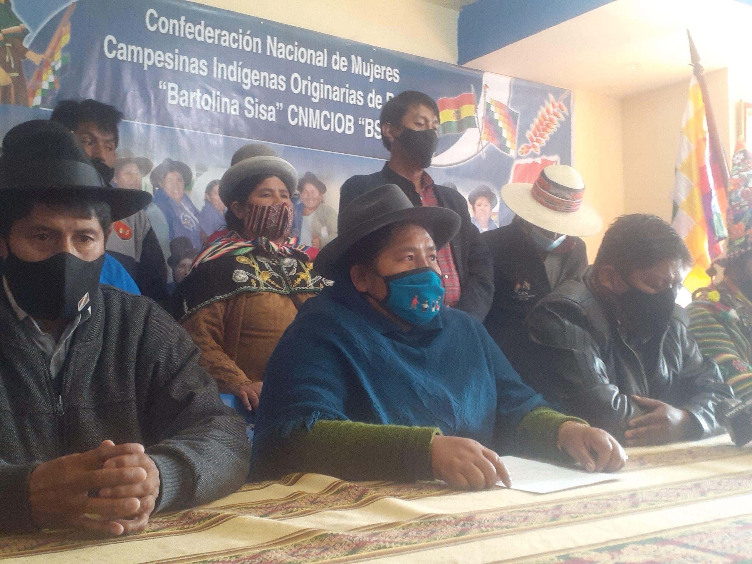 El Pacto de Unidad convoca a movilizaciones contra la postergación de las elecciones