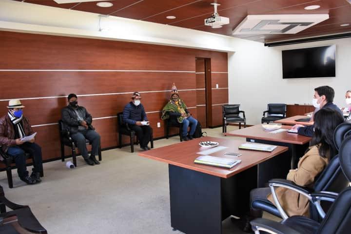 La COB junto al Pacto de Unidad abren debate con el Tribunal Electoral sobre la fecha de las elecciones