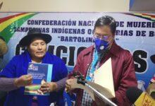 """Photo of Segundina Flores se mantendrá como Ejecutiva de las Bartolinas Sisa """"mi lucha para recuperar la democracia no es por cargos y pegas"""""""