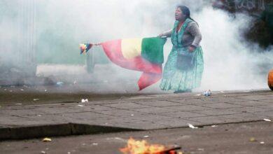 Photo of A un año de la masacre en Senkata la Confederación Bartolina Sisa reconoce la lucha de la mujer de pollera
