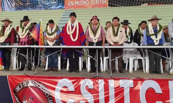 La CSUTCB inauguró su Congreso  XVII de Unidad  para reconducir el proceso de cambio