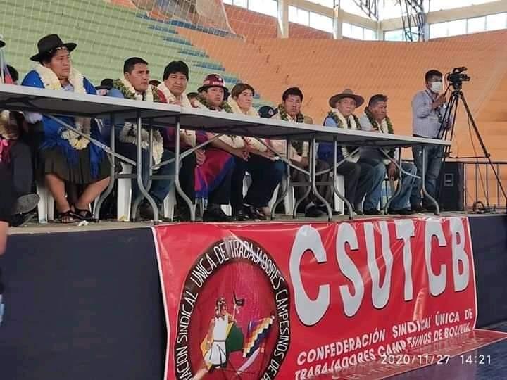 A pesar de que se mantiene un machismo en el Congreso Campesino las Mujeres Bartolinas presentes en el encuentro