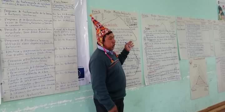 Un representante Quechua del Norte de Potosi Eber Rojas es el nuevo Secretario Ejecutivo de la CSUTCB por la gestión 2020 – 2022