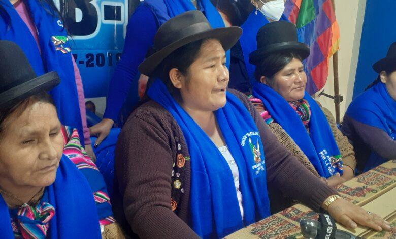 Photo of La Confederación de Mujeres Bartolinas Sisa exigen una purga dentro del Gobierno para barrer a las pititas