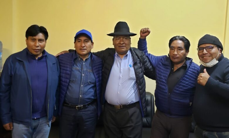 """Photo of El """" ratuki"""" como lo conocen es el candidato por consenso por el MAS-IPSP para la Alcaldia de El Alto"""