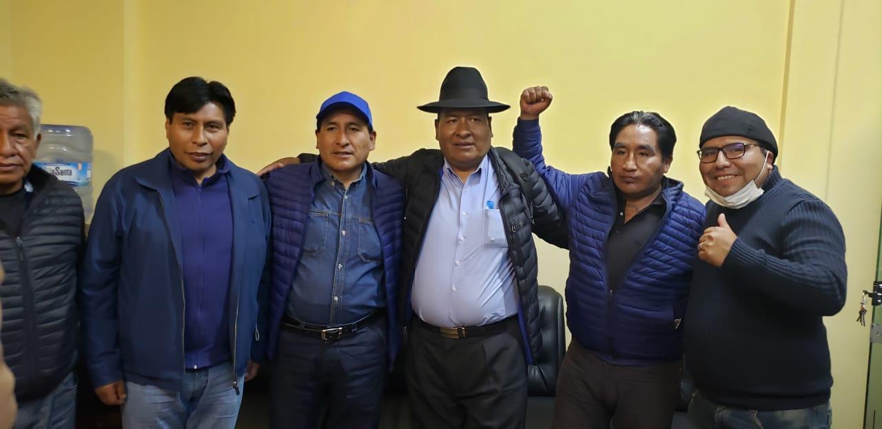 """El """" ratuki"""" como lo conocen es el candidato por consenso por el MAS-IPSP para la Alcaldia de El Alto"""