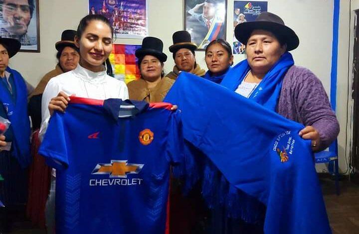 Photo of Las Bartolinas brindan su apoyo a Cielo Veizaga la Viceministra más joven que historicamente ocupa un cargo en el estado