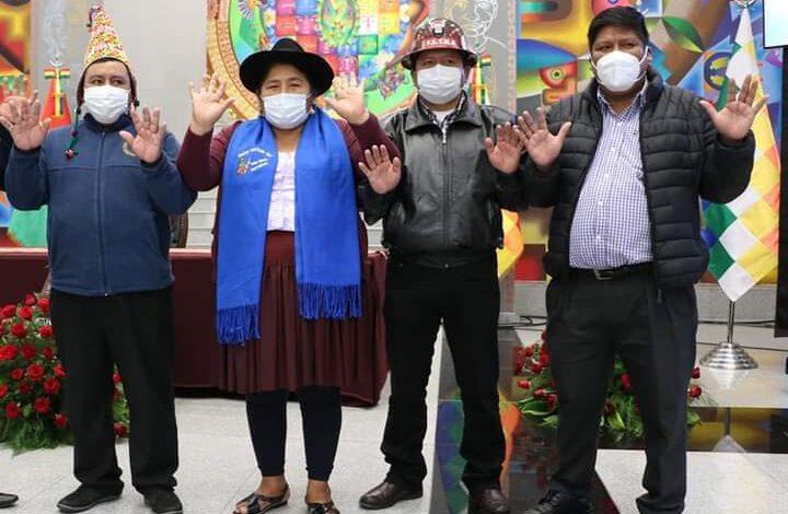 Photo of El Pacto de Unidad y la COB que recuperaron la democracia  piden descolonizar el estado y trabajar de manera conjunta con el Gobierno