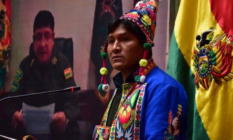 Photo of El Viceministro Descolonización presentó demanda penal  contra 26 policías que cortaron la wipala durante el golpe