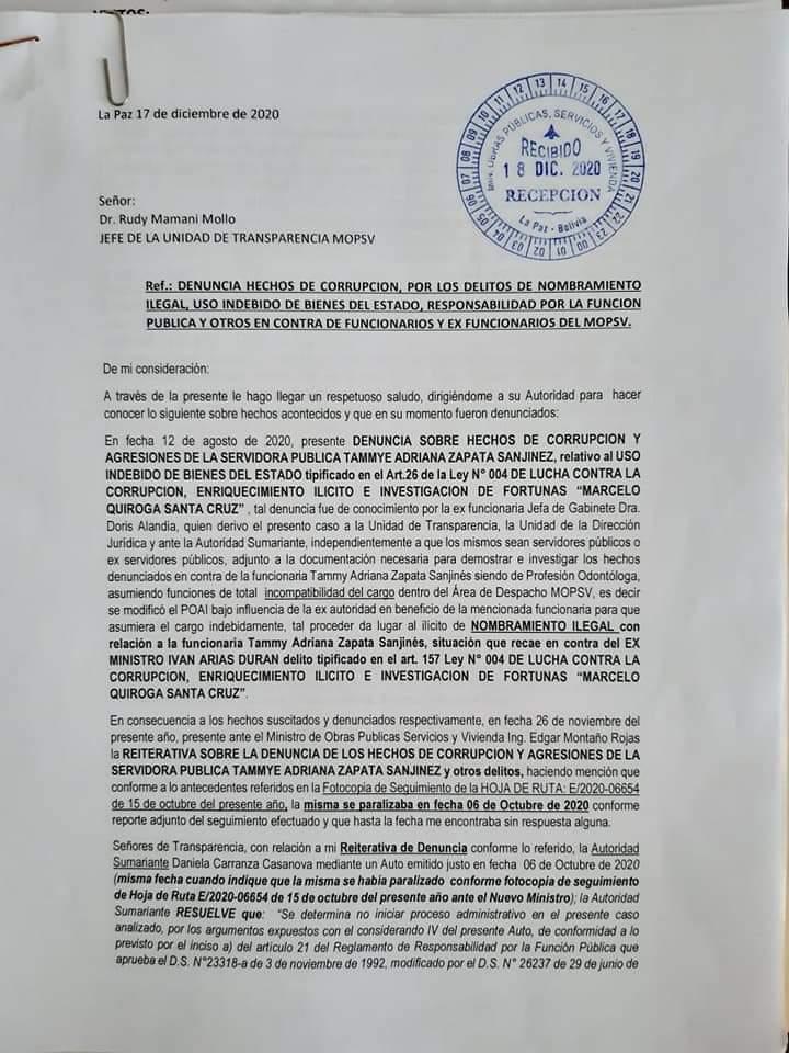 Subnacionales: Negro Arias un oscuro porvenir para la Alcaldia es denunciado por su en torno cuando era Ministro