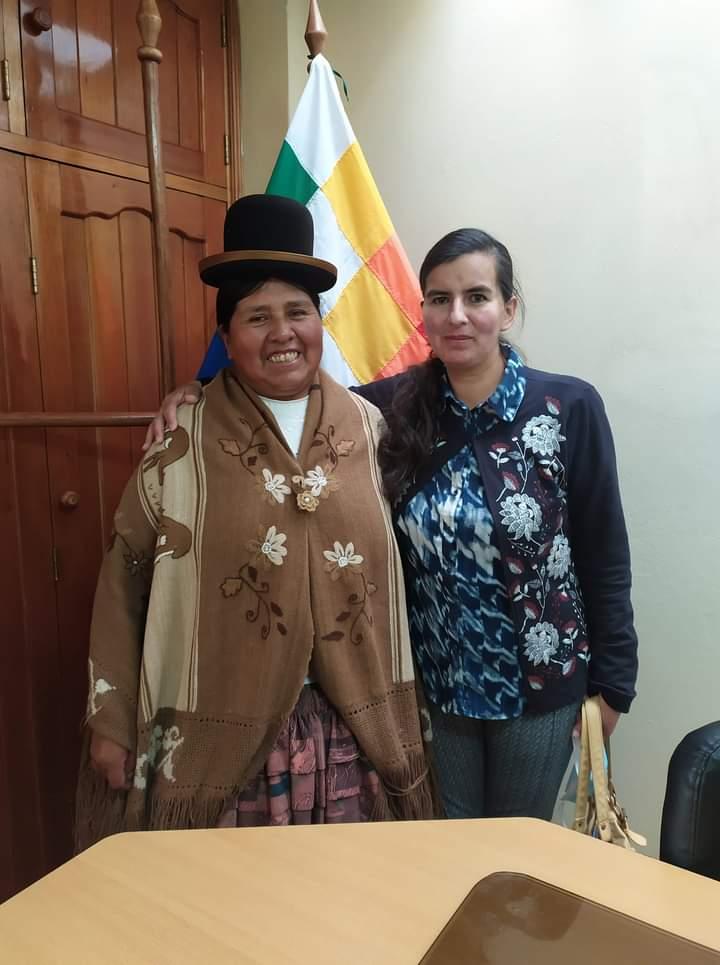 Felipa Huanca asumió formalmente sus funciones diplomáticas de Cónsul en Puno Peru