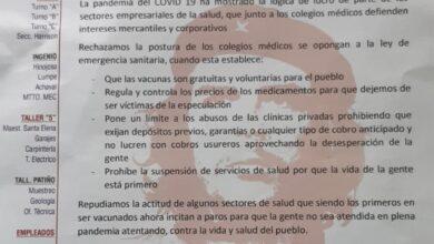 Photo of Mineros de Huanuni se declaran en estado de emergencia contra el paro medico advierten afanes de desestabilización