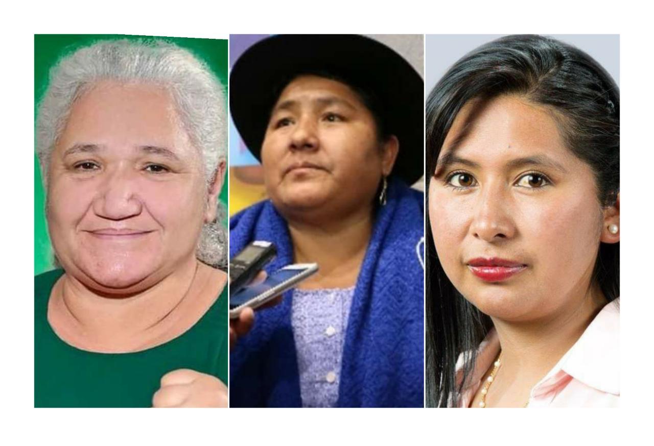 Las Mujeres Bartolinas Sisa pedirán el retorno de Eva Copa y Ana Lucia Reis al MAS- IPSP