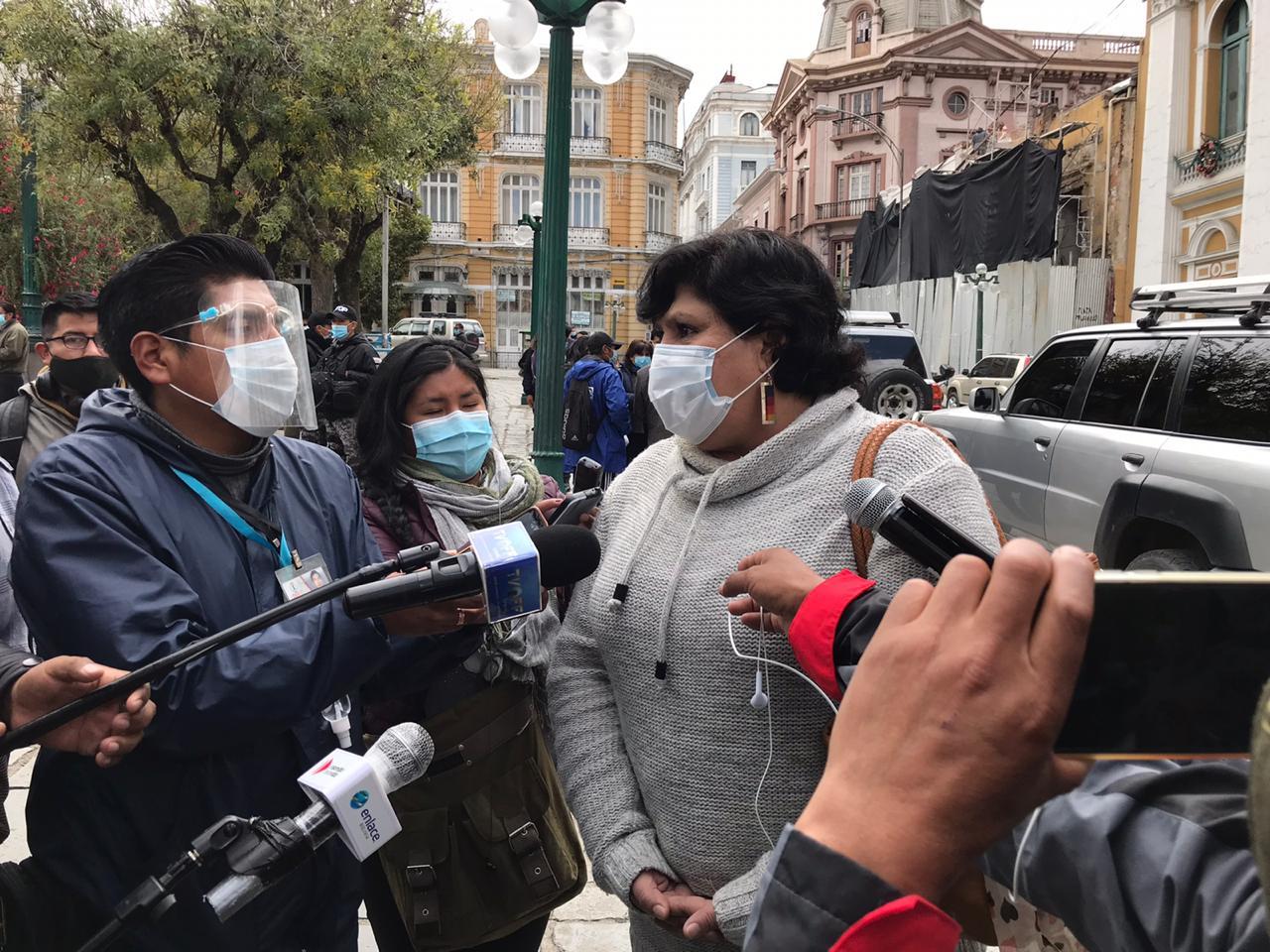 Senadora Arce identificó a más de 20 integrantes de la RJC como sus agresores en secuestro de 2019