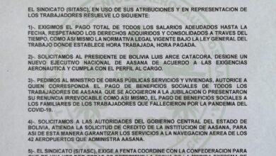 Photo of Trabajadores Aeronáuticos amenazan con ingresar paro de aeropuertos por la falta de pago de sus salarios