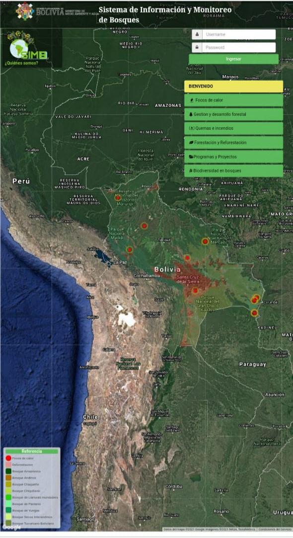El MInisterio de Aguas y Medio Ambiente logró controlar el incendio en el Parque Nacional Otuquis