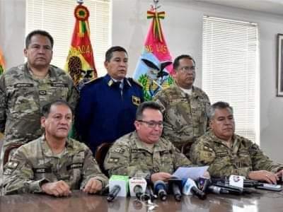 Amplían dos nuevos delitos contra siete exjefes militares y policiales por el caso «golpe» de Estado