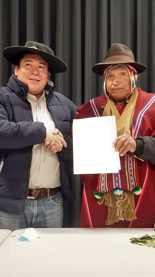 La CIDOB y el CONAMAQ firman un Pacto de Unidad para fortalecer y defender el proceso de cambio