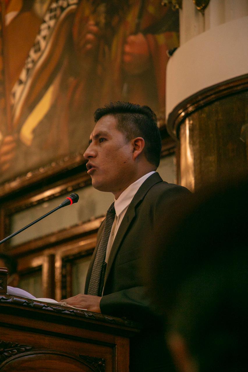 Auza presenta Plan Nacional contra la COV-19 y Asamblea Legislativa le dá su respaldo