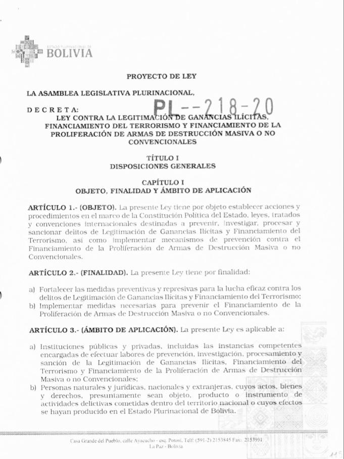 Suman una Veintena de sectores sindicales profesionales que acorralan al Gobierno de Bolivia en rechazó a la ley contra legitimacion de ganancias